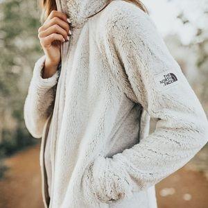 Northface Gray Fleece Full-Zip Jacket